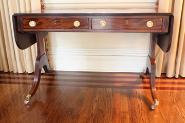 Antique Drop Leaf Hall Table