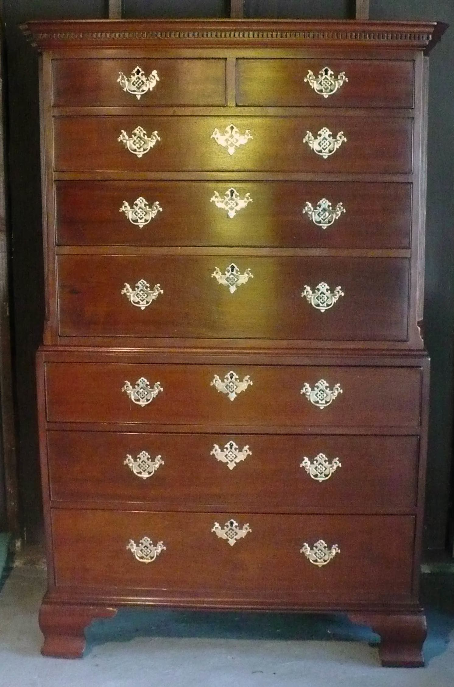 Tall chest restoration