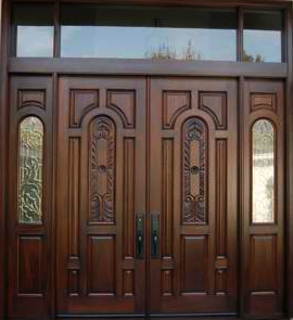Door entry refinishing